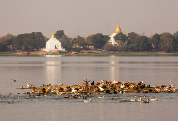 Amarapura is the ancient capital of Myanmar.