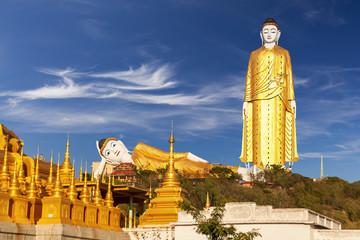 Bodhi Tataung Standing Buddhaue. Monywa.