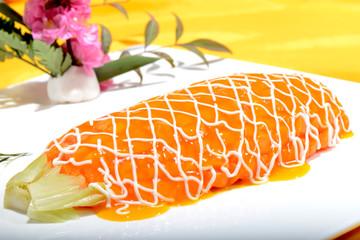 Chinese Food: Salad made of Papaya