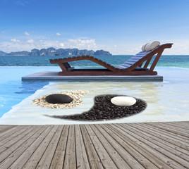 piscine zen en Thaïlande