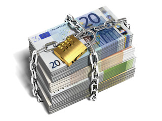 moneybills_with_lock