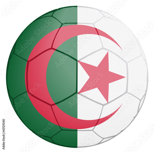 Algeria Soccer Team Ball World Cup