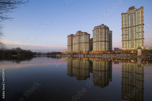 View on luxury residential complex Alie Parusa