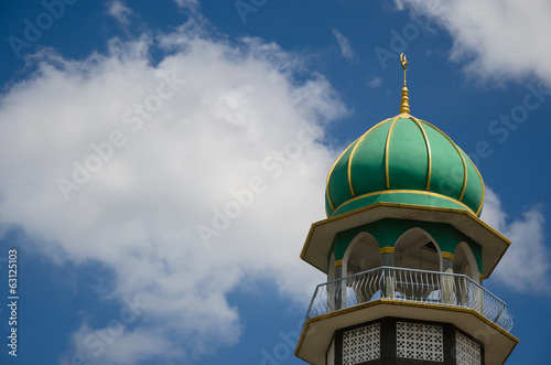 Mosque In Blue Sky