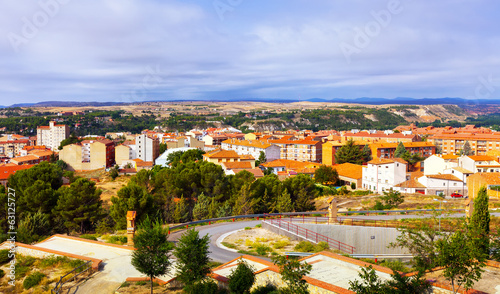 Panoramic view of Teruel