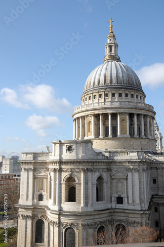 St Pauls Cathedral from rooftop of One New Change