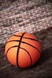 abandoned basketball ball