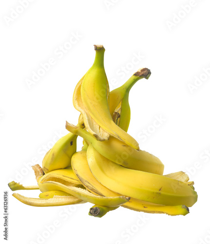 Stack of Banana skin