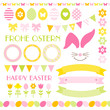 Icons Easter Set Green/Pink/Yellow