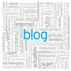 """Nuage de Tags """"BLOG"""" (réseaux sociaux news médias actualités)"""