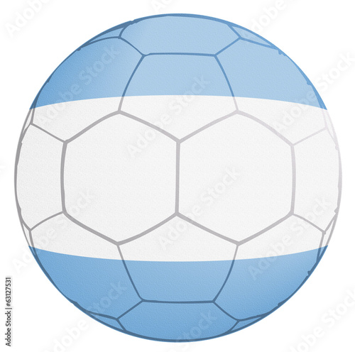 Argentina Soccer Team Ball World Cup 2014