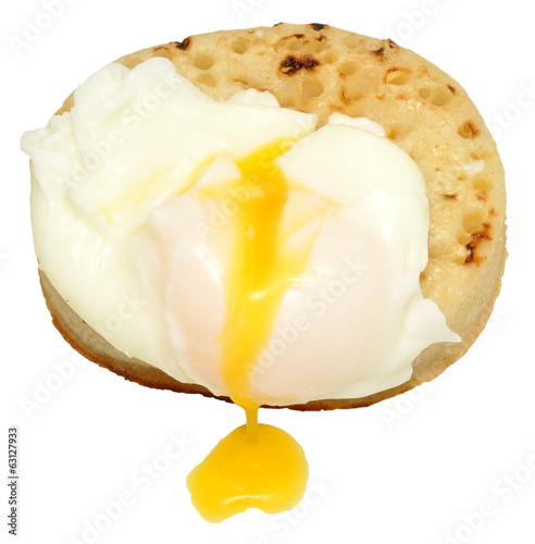 Poached Egg And Crumpet