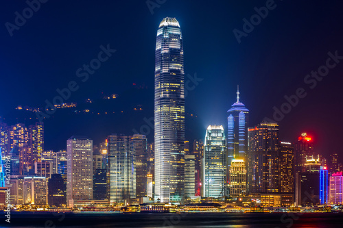 Symphony of light in Hong Kong