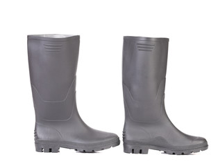 Black man's boots