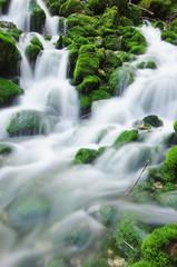 technique photographique - rivière en pause longue