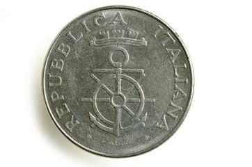 100 lire Accademia navale di Livorno 1981 Lira Italiana