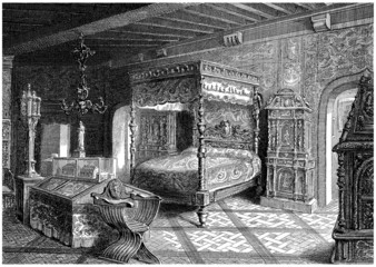 Room & Furnitures : Renaissance - 16th century