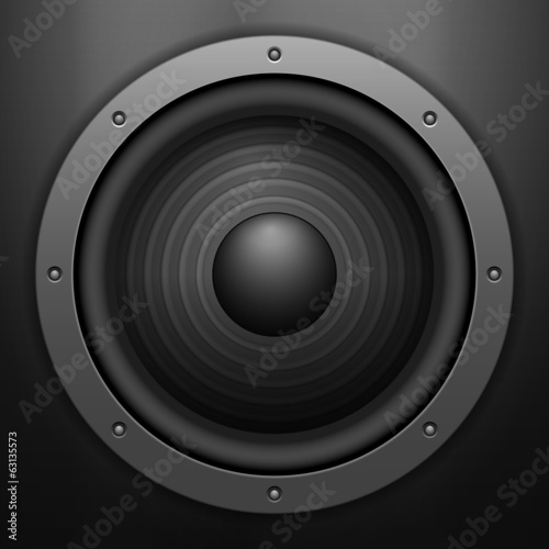 sound speaker background