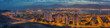 Panoramic view on Eilat (Israel) and Aqaba (Jordan)