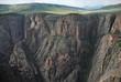 Black canyon of the Gunnison National Park, South Rim, CO, USA