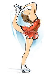 Skating dance