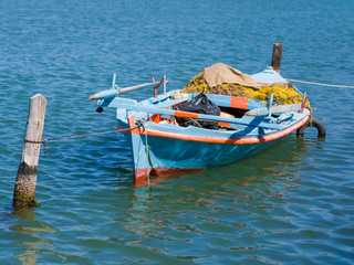 Fishing boat in Greece
