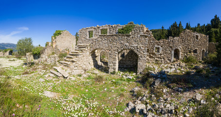 The castle of Lefkada