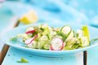 spring vegetables salad