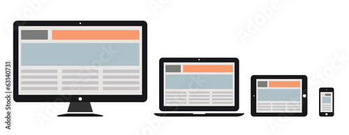 responsive web design - 63140731
