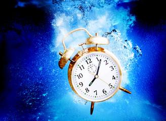 sinking alarm clock