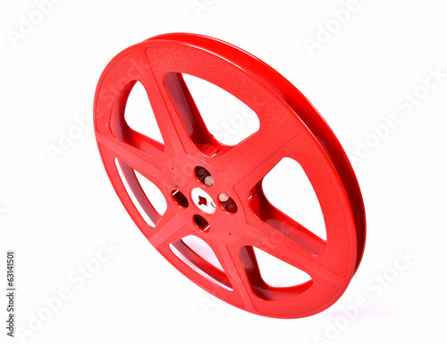 red film reel