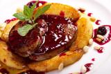 foie gras with sauce - Fine Art prints