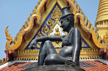 statue of Hermit Doctor in Bangkok