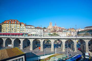 Viadukt in Lausanne