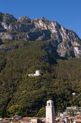 Riva Del Garda on Lake Garda Italy