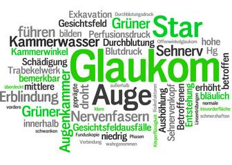 Glaukom (Grüner Star, Auge, Erblindung)