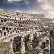 A l'intérieur Colisée