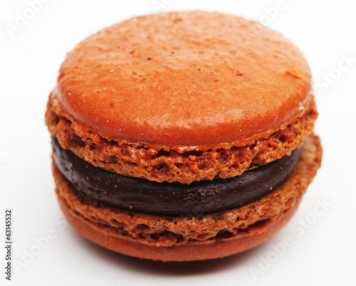 Orange French Macaroon