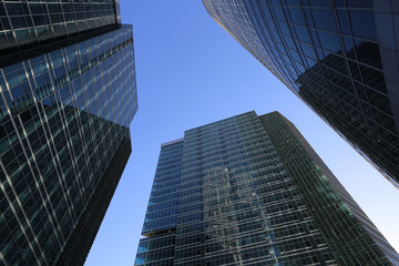 "Business offices and trade centers in the business area ""Moscow-"