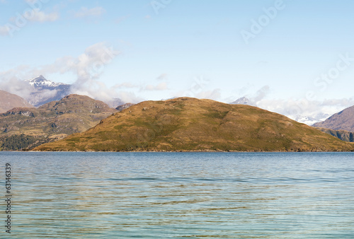 magnificent fabulous scenery in New Zealand, Lake Tekapo