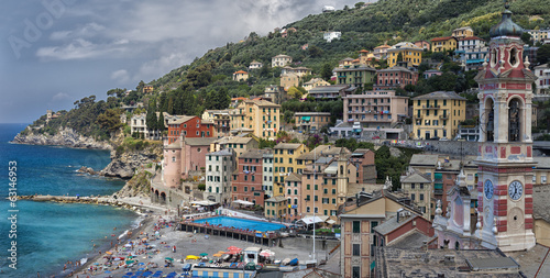 Sori, a small village in Liguria.