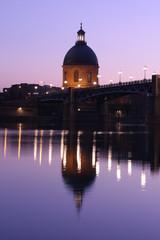 La Grave et le pont Saint Pierre, Toulouse