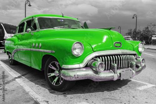 Old american car - 63148144