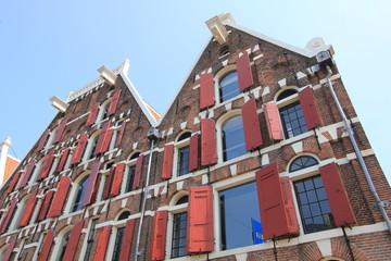 Amsterdam volet rouge