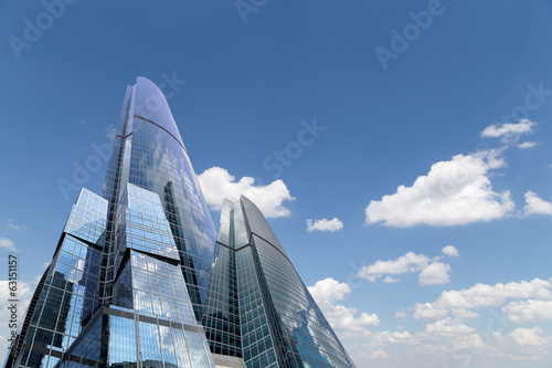 Skyscrapers of the International Business Center (City), Moscow