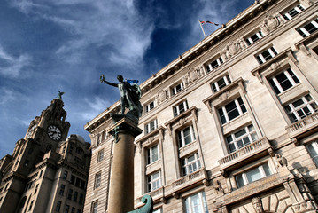 Royal Liver building at Liverpool