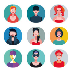 Flat Avatars Collection