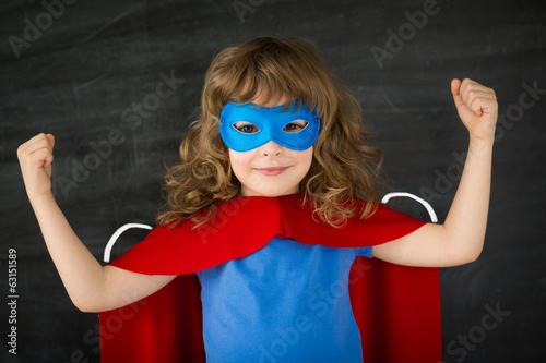 Superhero kid