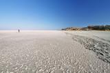 Salt lake around Kubu island