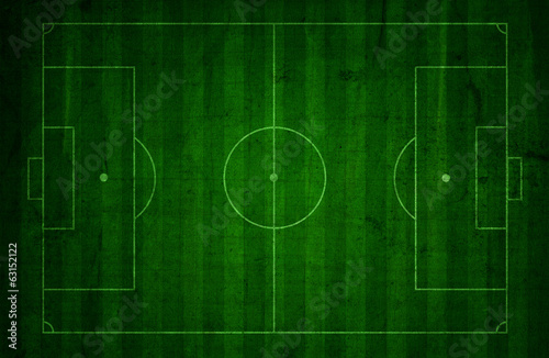Grunge soccer pitch background